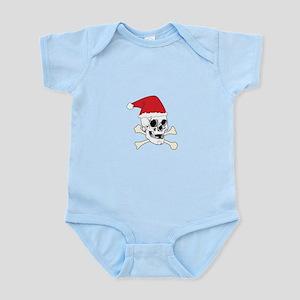 Santa Skull Body Suit