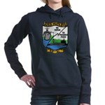 USS HUNLEY Women's Hooded Sweatshirt