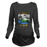 USS HUNLEY Long Sleeve Maternity T-Shirt