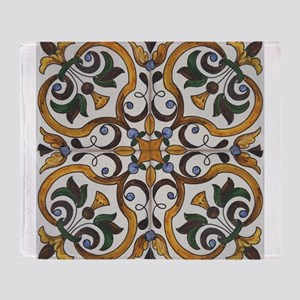 Portuguese Tiles De... Throw Blanket