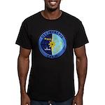 USS INTREPID Men's Fitted T-Shirt (dark)