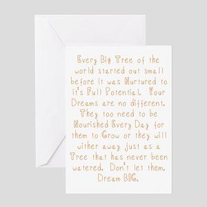 Nurture Your Dreams Greeting Cards