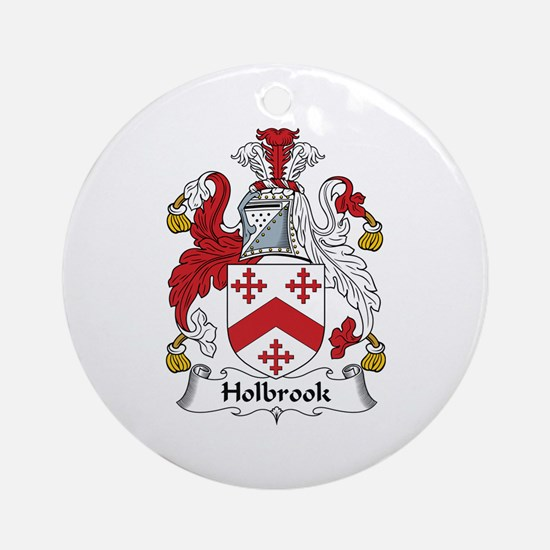 Holbrook Ornament (Round)