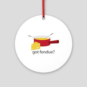 got fondue? Ornament (Round)