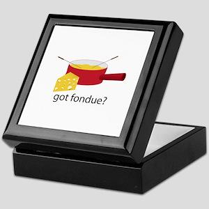 got fondue? Keepsake Box
