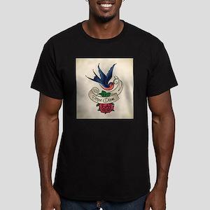 carpe diem bluebird tattoo style T-Shirt