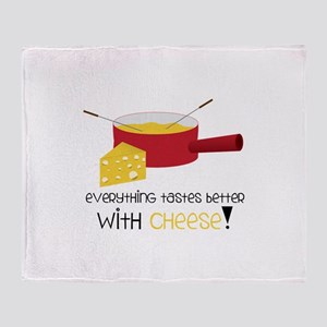 WitH CHeese! Throw Blanket