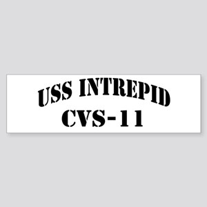 USS INTREPID Sticker (Bumper)