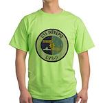 USS INTREPID Green T-Shirt