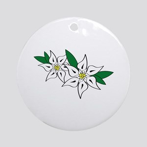 Edelweiss Ornament (Round)