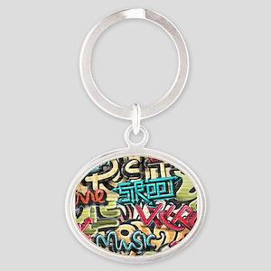 Graffiti Wall Keychains