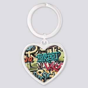 Graffiti Wall Keychains