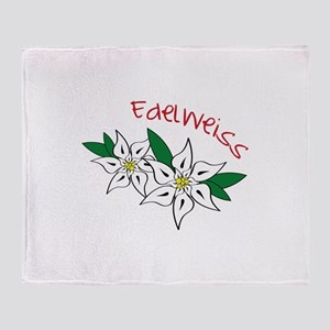 Edelweiss Throw Blanket