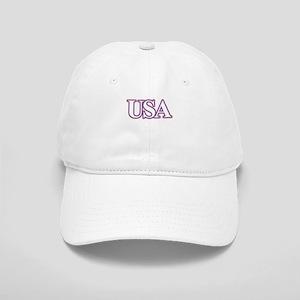 USA Flag, Red White Blue Patriotic Cap