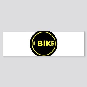 CYCLIST Bumper Sticker
