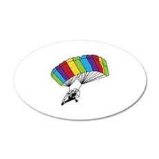 Powered Parachute Wall Decal