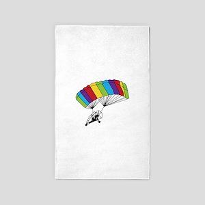 Powered Parachute 3'x5' Area Rug
