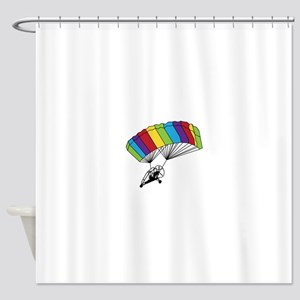 Powered Parachute Shower Curtain