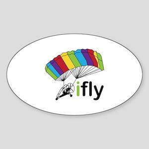 i fly Sticker