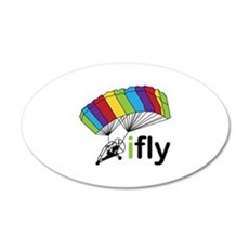 i fly Wall Decal