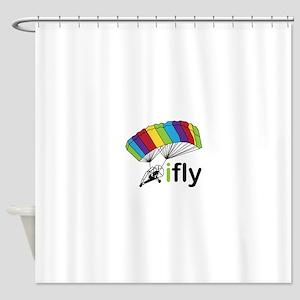 i fly Shower Curtain