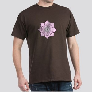 Lotus Pink2 Dark T-Shirt