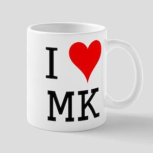 I Love MK Mug