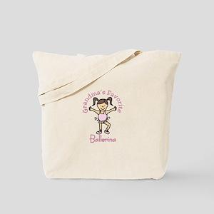 Grandmas Favorite Ballerina Tote Bag