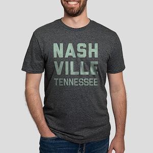 Nashville Tennessee Mens Tri-blend T-Shirt