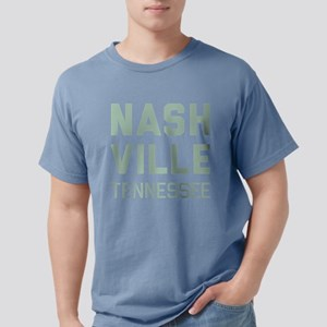 Nashville Tennessee Mens Comfort Colors Shirt