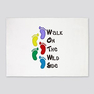 Walk On The Wild Side 5'x7'Area Rug
