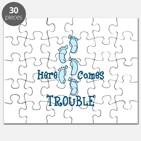 Here Comes Trouble Puzzle