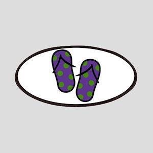 Beach Flip Flops Patches