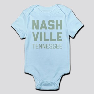 Nashville Tennessee Baby Light Bodysuit