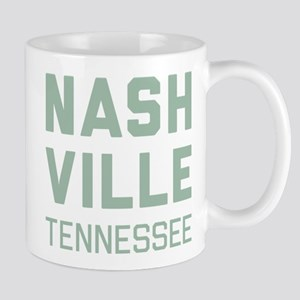 Nashville Tennessee 11 oz Ceramic Mug