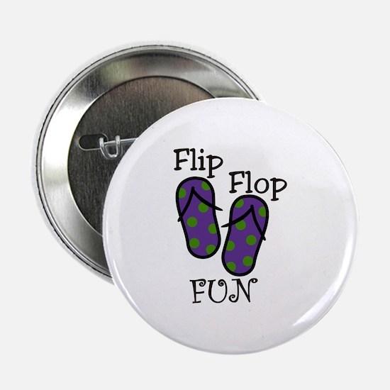 """Flip Flop Fun 2.25"""" Button"""