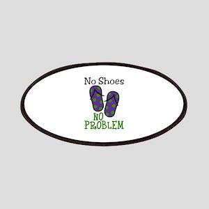 No Shoes No Problem Patches