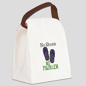 No Shoes No Problem Canvas Lunch Bag