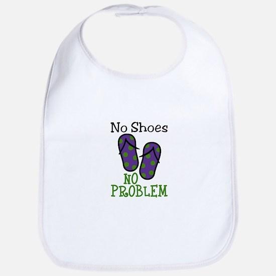 No Shoes No Problem Bib