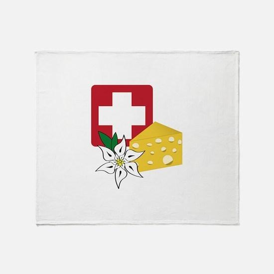 Swiss Throw Blanket