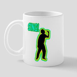 Silhouettes Sing! Mug