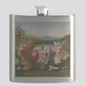 The Park-Yorkie/Biewer Flask