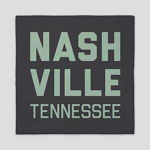Nashville Tennessee Queen Duvet