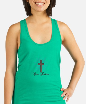 Our Father Racerback Tank Top