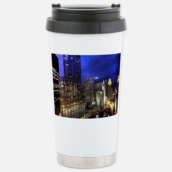 Chicago Skyscrapers Stainless Steel Travel Mug