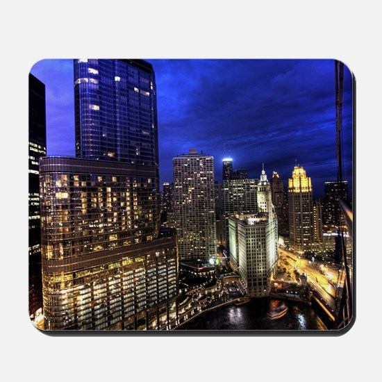 Chicago Skyscrapers Mousepad
