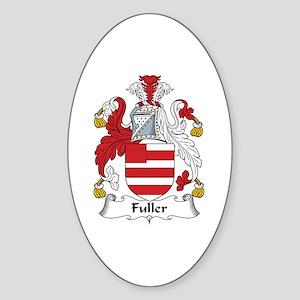 Fuller Oval Sticker