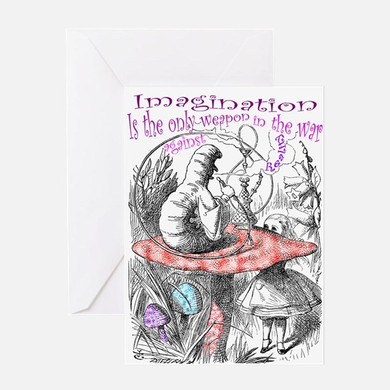 Imagination & Reality Greeting Cards