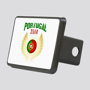 Soccer Portugal 2014 Wings Rectangular Hitch Cover