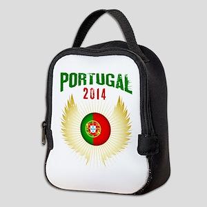 Soccer Portugal 2014 Wings Neoprene Lunch Bag